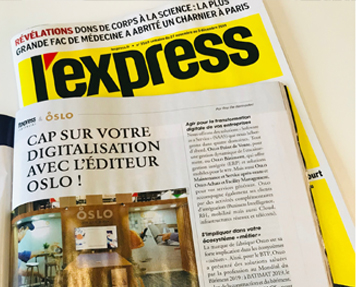 L'Express parution OSLO